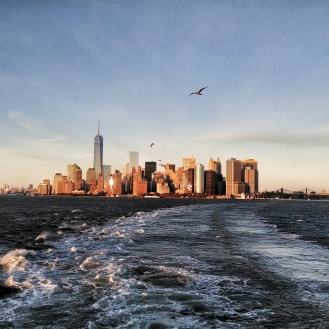 Taking the Staten Island Ferry