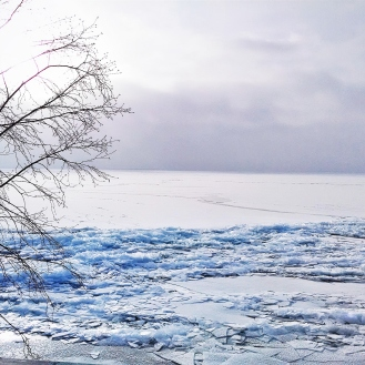 Lake Superior frozen