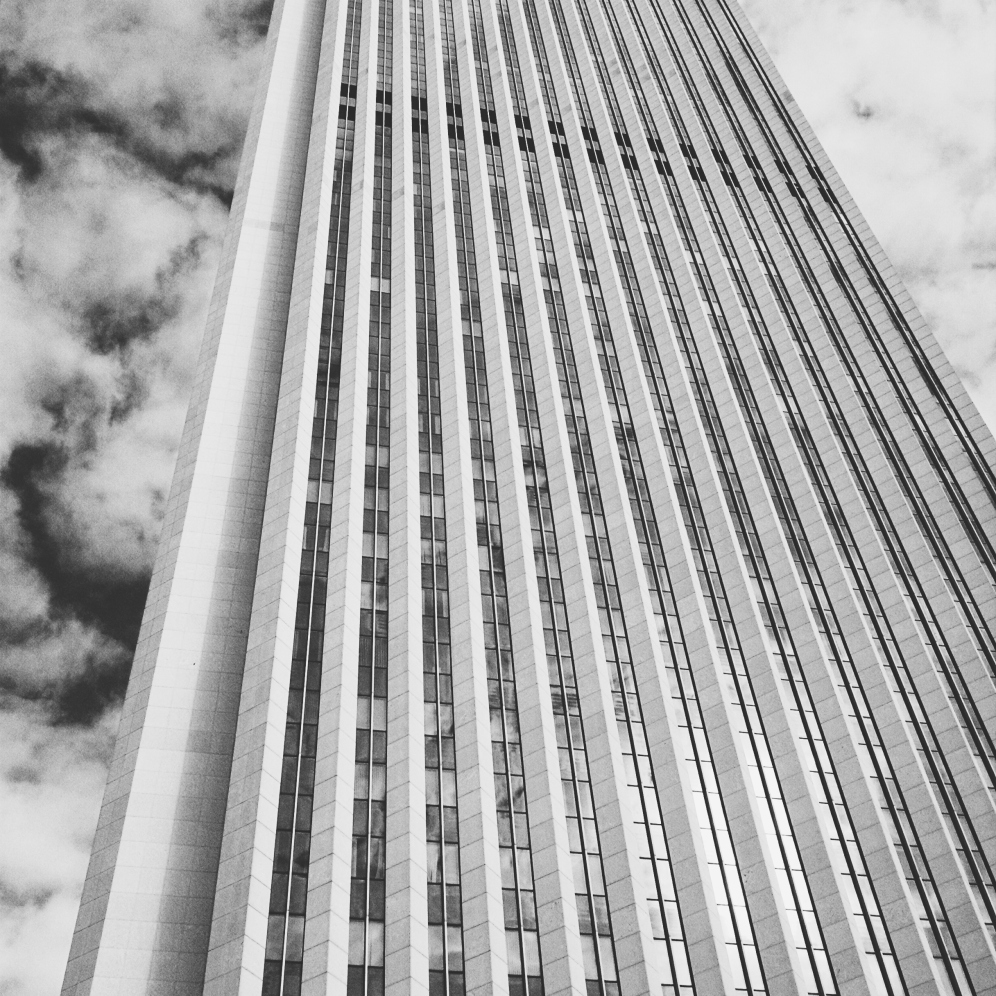 Outside of the Aon Center